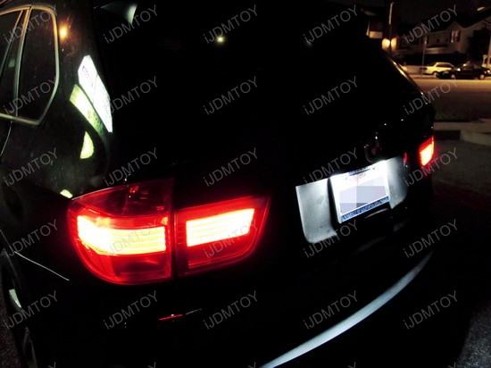 BMW - X5 - LED - License - Plate - Lights - 02